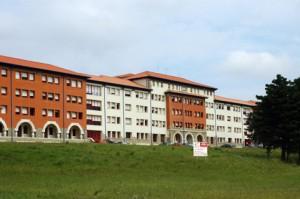 Exteriores Hospital de la Cruz Liencres