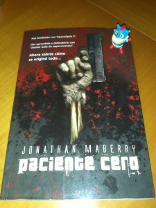Jonathan Maberry - Paciente cero